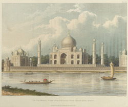 The Taj Mahal, Tomb of the Emperor Shah Jehan